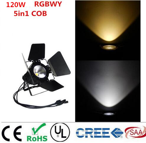 LED par 120W COB RGBWA UV 6in1/RGBW 4in1/RGB 3in1/ Warm White Cold white UV LED Par Par64 led spotlight dj light Dmx controll цена