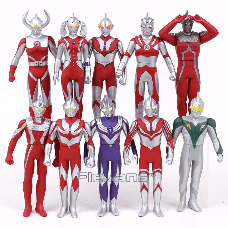 Ultraman Jack Ace Taro Tiga Zoffy Seven Father / Mother of Ultra PVC Action Figures Collectible Model Toys 16cm 10pcs/set patrulla canina with shield brinquedos 6pcs set 6cm patrulha canina patrol puppy dog pvc action figures juguetes kids hot toys