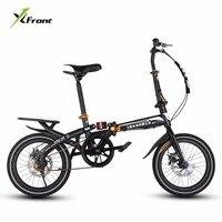 New Brand BMX Bike 14 16 Inch Wheel Disc Brake Folding Bicicleta Children Lady S Bicycle