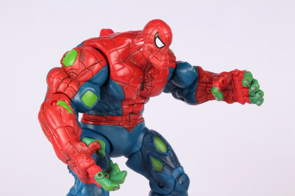 Toy Biz Marvel Legends Spiderman Classics Spider-Hulk Action Figure Loose Rare