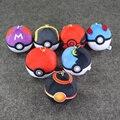 Pokeball Plush Pendant Poke Ball Plush Keychain 7cm Pokeball Stuffed Toy for Boys and Girls 7pcs/lot
