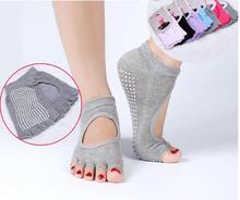 2016 newfoot care tool salmofada Ms. professional toe socks cotton sock valgus pros open toe slip halter Sweat touca feminina