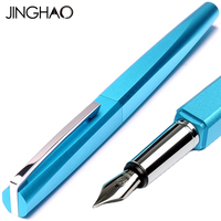 Jinghao KACO SQUARE Series Luxury Metal Fountain Pen With Original Gift Case 0 5mm Steel Nib