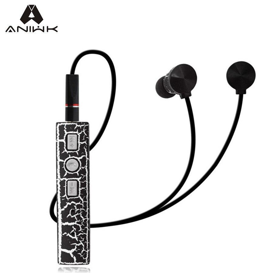 bilder für Aniwk Riss Bluetooth V4.2 Headset selbstauslöser Stereo fone de ouvido Sport Kopfhörer Mit Mikrofon Magnetische Für telefon
