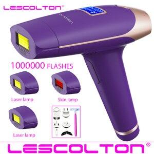 Image 2 - 2020 Nieuwe Lescolton 6in1 5in1 4in1 IPL Epilator Permanente Laser Ontharing T009i 1600000 Pulsen depilador een laser Photoepilator