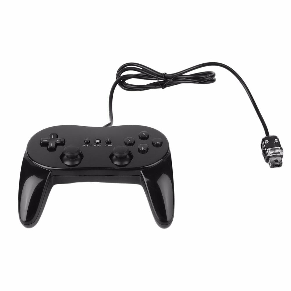 Clássico Wired Game Controller Jogo Remoto Pro Segundo-geração de Choque Gamepad Joypad Joystick Para Nintendo Wii