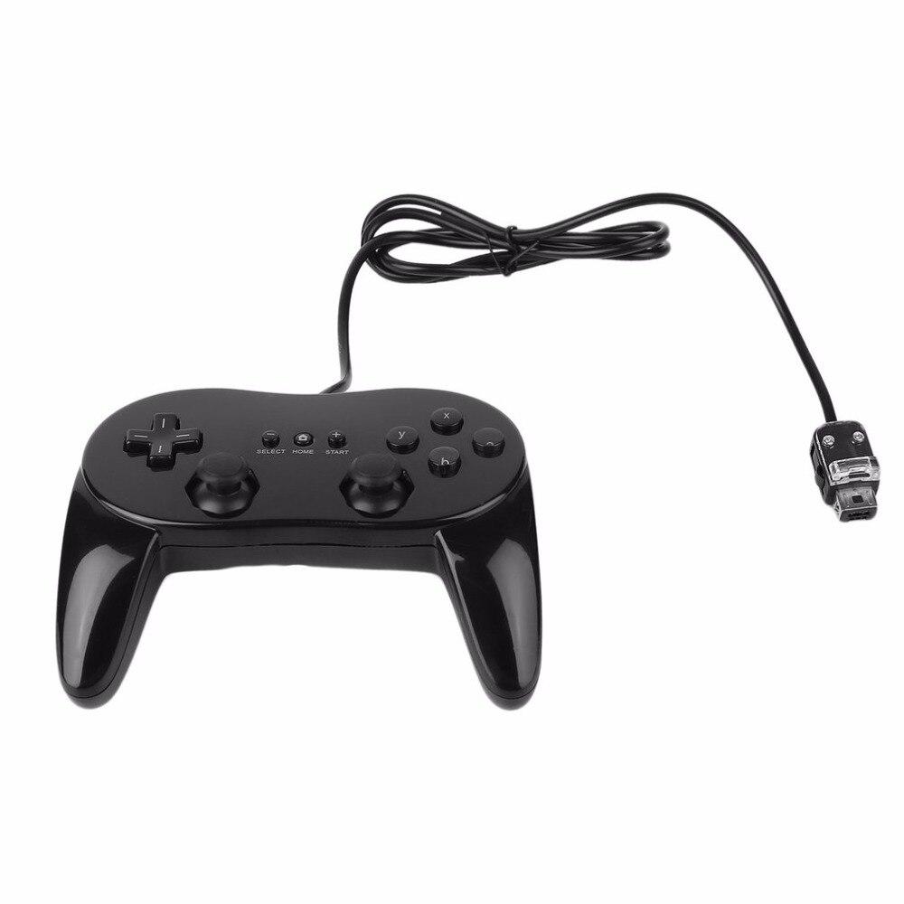 Klassische Verdrahtete Spiel Controller Gaming Remote Pro Gamepad Shock Joypad Joystick Für Nintendo Wii Zweiten generation
