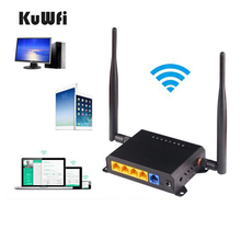 OpenWrt English Firmware 2.4G Wifi Router 300Mbps High Power Through Wall Wireless Router Strong Wifi Signal with 5dBi Antenna