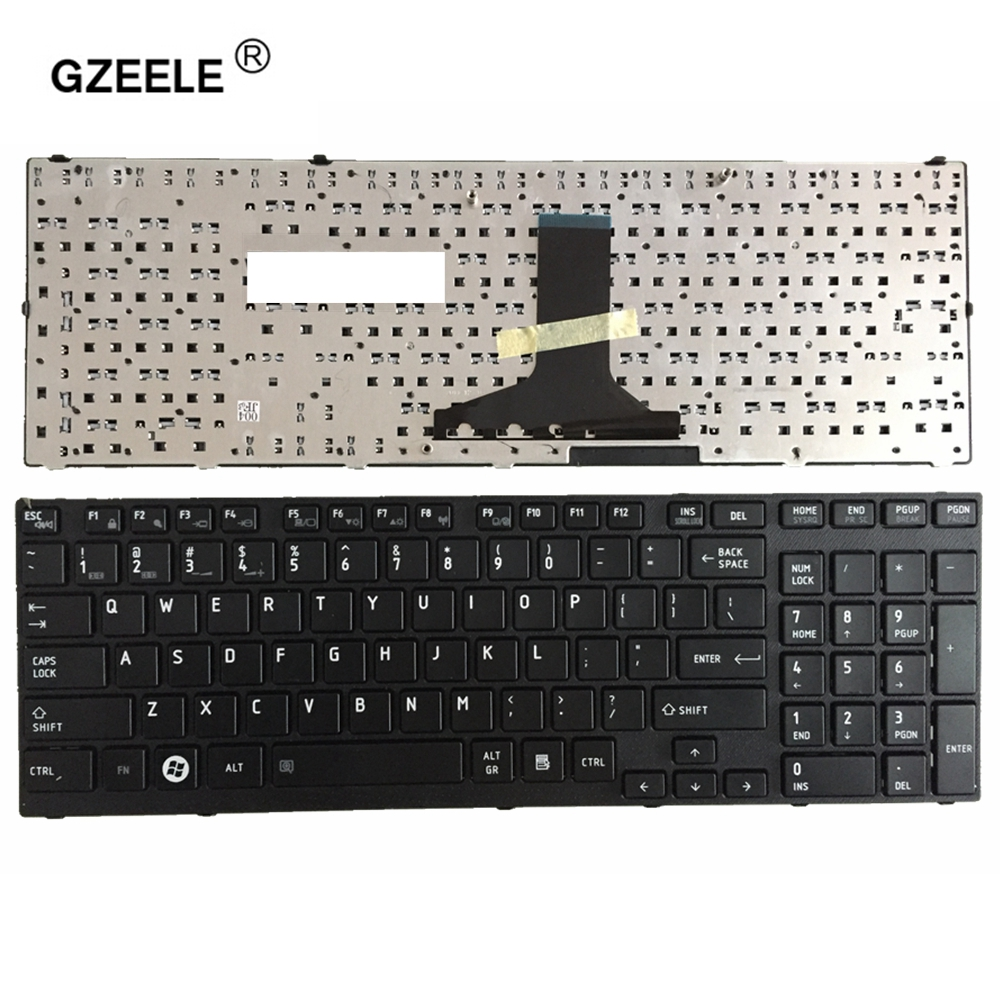 English Keyboard FOR Toshiba Satellite P750 P750D P755 P755D P770 P770D P775 P775D Qosmio X770 X775 US Keyboard BLACK REPLACE