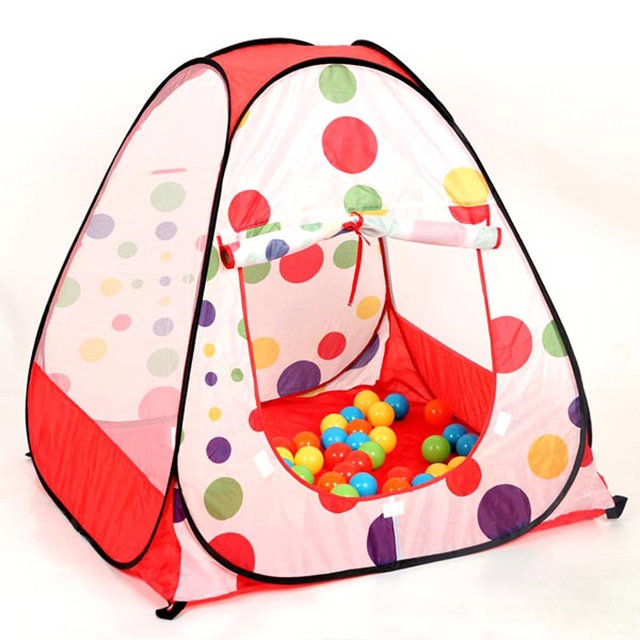 free shipping polka dot child game tent baby small play tent 90*90*93  sc 1 st  AliExpress.com & free shipping polka dot child game tent baby small play tent 90*90 ...