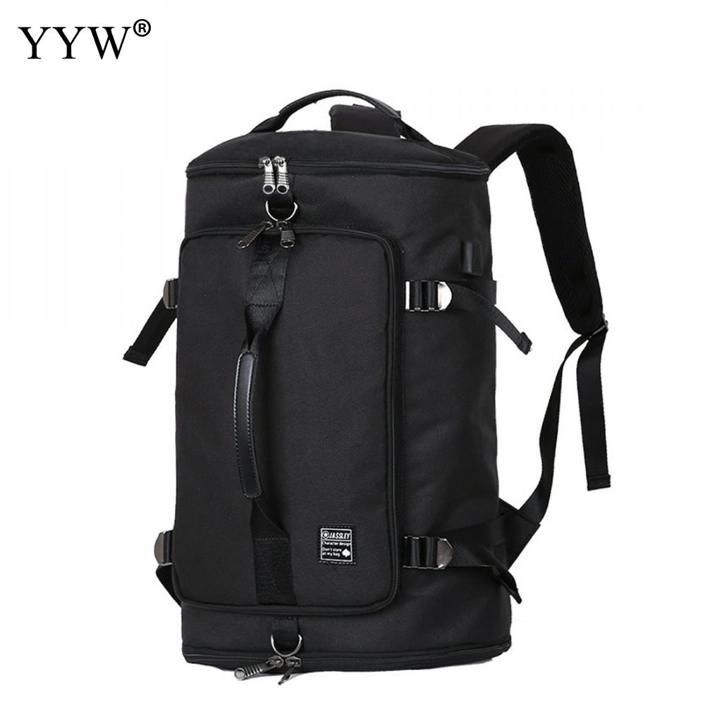 Black MenS Oxford Backpack USB Charging Bags Gray Anti Theft Backpack Zipper Male Blue Travel Backpacks Large Capacity