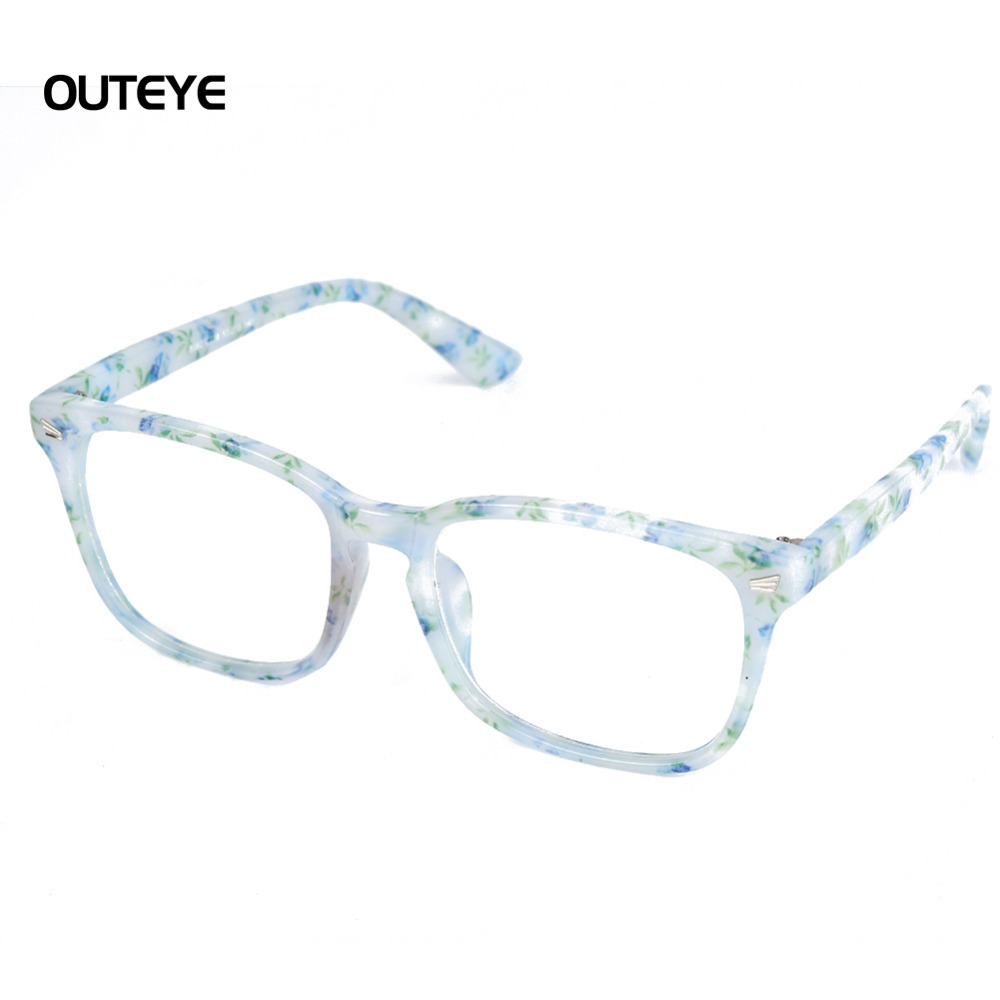 e92d7f1db290d Outeye 9 cor Hot miopia óptico óculos limpar lens óculos nerd geek óculos  de armação sun sombra óculos armações para os homens as mulheres W1 em  Armações de ...