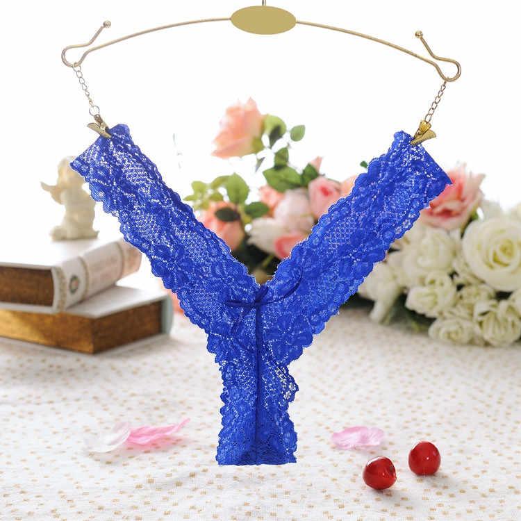 SAGACE Lingerie Sexy femmes dentelle culottes slips Sexy sous-vêtements Lingerie culottes tongs string lingerie sexy pour les femmes mode