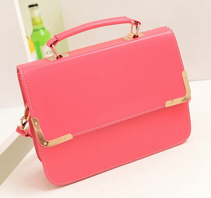 ECOSUSI candy color Women Messenger Bags Fresh Women Leather ...