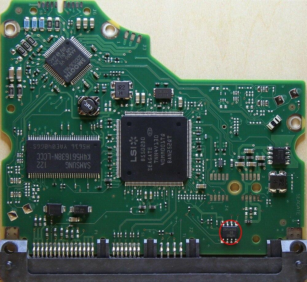 PCB 100574451 Rev A/B for 1/1.5/2Tb Barracuda HDD 3.5 Logic Board 46 wvga logic dif component pcb v02 4359301402 a used disassemble