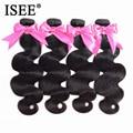 ISEE HAAR 4 Bundles Brasilianische Körper Welle Haar Verlängerung 100% Remy Menschliches Haar Bundles 4 stücke Haar Verlängerung Natur Farbe