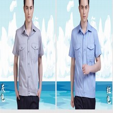 Male short-sleeve summer season work put on prime automobile magnificence workwear protecting clothes