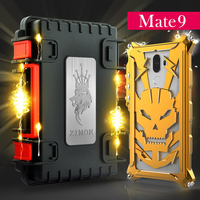 Mate 9 Case Heavy Metal Body Case SIMON Mechanical Arm Aluminum Anti Knock Cover Phone Cases