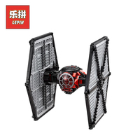 Lepin 05005 562Pcs Star Classic Wars 75101 The Special Forces Tie Fighter Model Building Blocks Bricks