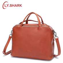 LY.SHARK Messenger Bag Women Shoulder Bag Handbag Female Bag Ladies Genuine Leather Crossbody Bags For Women 2018 Luxury Brand