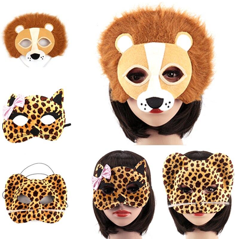 1 st Halloween Party Animal Masks Cosplay Masque Kostym Tillbehör - Semester och fester - Foto 6