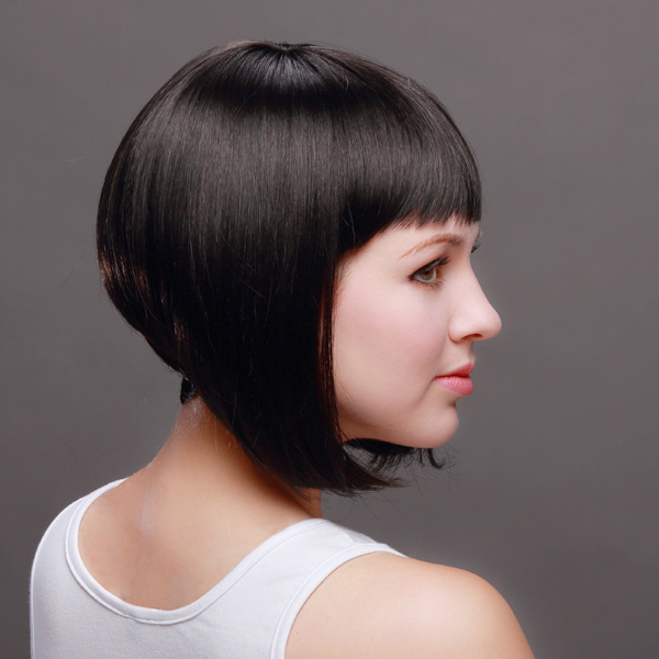 Fine Aliexpress Com Buy 11 28Cm Synthetic Wig Graduated Bob With Short Hairstyles For Black Women Fulllsitofus