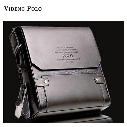 2017 New Fashion Videng Polo High Quality PU Leather Men Shoulder Bag Business Messenger Bag Briefcases Men Crossbody Bag M002-2 все цены