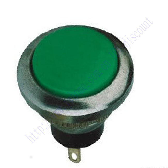 New 1pc Green Momentary Push Button Switch 12V 120V Off on N O DS 432 B312