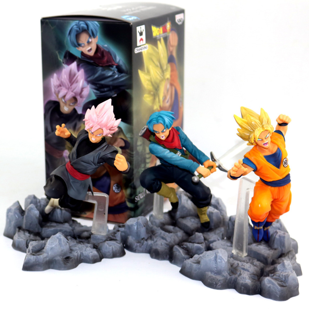 Huong Anime 10 CM Dragon Ball Super Super Saiyan Son GoKu Kakarot TRUNKS Black SON GOKU
