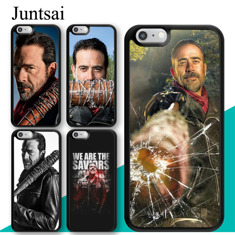 juntsai-negan-font-b-the-b-font-font-b-walking-b-font-font-b-dead-b-font-phone-case-for-iphone-7-6-6s-plus-rubber-cover-for-iphone7-8-plus-x-5-5s-se-full-back-shell