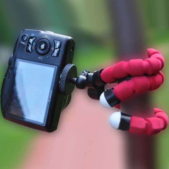 SltcrPasion Fleksibel Tripod untuk Kamera Tripod Kepala Tablet Pemegang Tongkat Babat Para Celular Ponsel Video Tripod