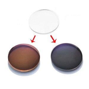 Image 3 - BCLEAR 1.56 โฟกัสด้านหน้าด้านนอก Progressive Chameleon สีเทาสีน้ำตาลแว่นตากันแดด Photochromic เลนส์มาตรฐาน multifocal