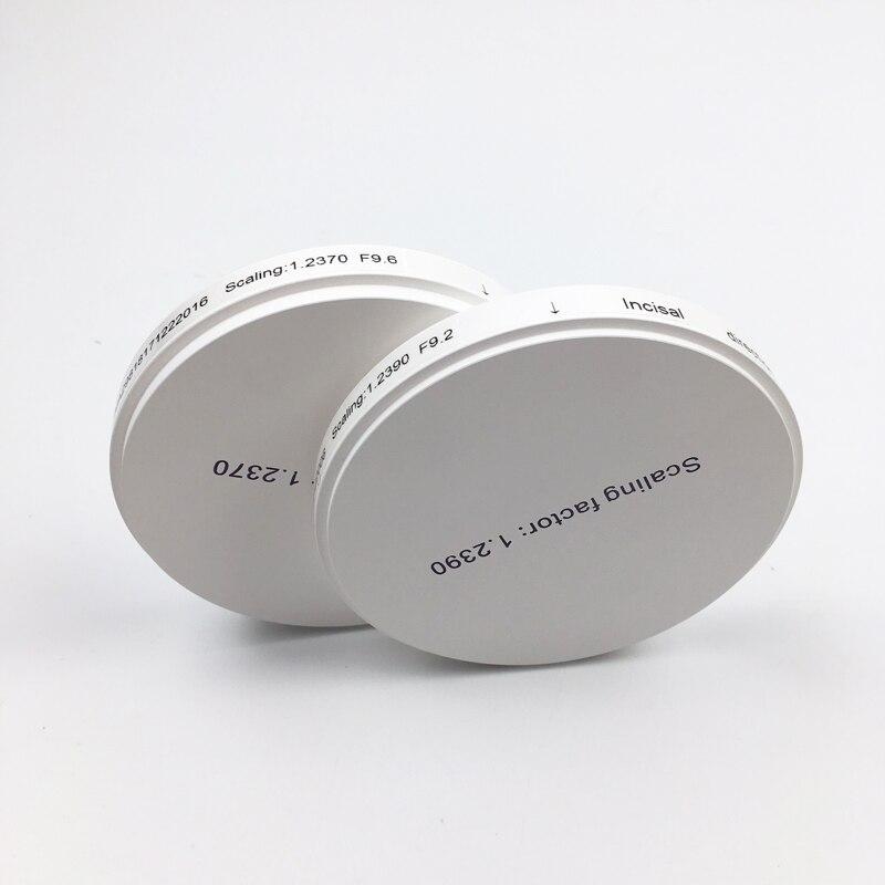 98*16mm À multicouche zircone dentaire bloc de céramique disque de zircone avec 16 nuances