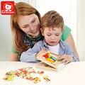 67 PCS Enigma Livro Para Kid Fun Brinquedos Educativos de Madeira Marca Top Brilhante Definido Para A Criatividade Para Crianças Meninas brinquedos menina
