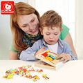 67PCS Puzzle Book For Kid Fun Wooden Educational Toys Brand Top Bright Set For Creativity For Children Girls brinquedos menina