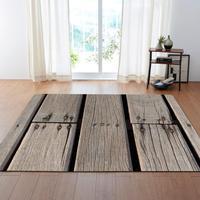 3D Print Wood Gain Modern Carpet Hallway Doormat Kid Play Game Mat Anti slip Large Area Rug for Living Room Bedroom Home Decor