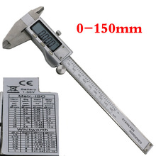 2017 Time-limited Hot Sale Calipers Digital Electronic Vernier Caliper Metal 6-inch 150mm Stainless Steel Micrometer Measuring