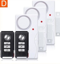 Home Security Door Window Siren Magnetic Sensor Alarm