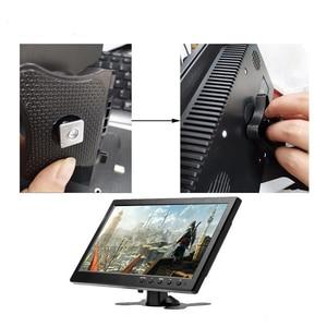 Image 5 - Ekran dotykowy 10.1 cala 1280x800 HD na PS3/4 komputer przenośny monitor bezpieczeństwa Xbox z głośnikiem interfejs hdmi VGA