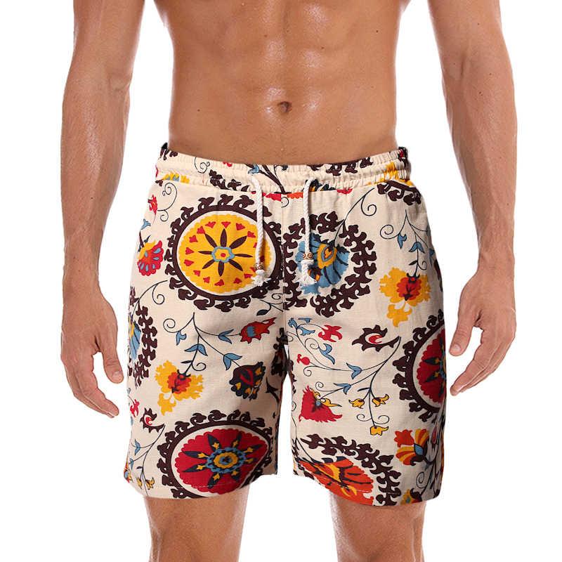 Letnie męskie kąpielówki stroje kąpielowe plażowe szybkie suche spodenki planszowe męskie kąpielówki bermudy Surfing szorty Sunga Masculina