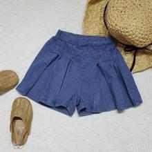 Новинка года,, джинсовые шорты для девочек, летние модные шорты для девочек 3-8 лет, B760