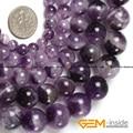 Color Mezclado redondo Amatista Piedra Natural Perlas Sueltas DIY Para La Joyería Que Hace Beads Strand 15 Pulgadas Al Por Mayor!