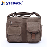 2016 New Canvas Bag Handbag Men And Women Oblique Satchel Bags Men Men Messenger Bag Shoulder