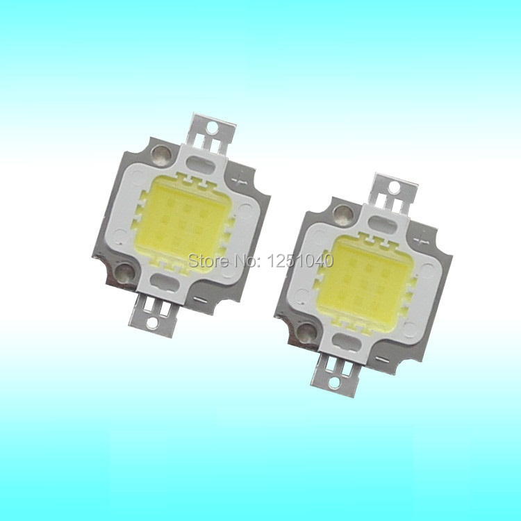 Epistar 33 MIL 10W full spectrum LED integrated light source 50000hours High power LED lamp beads 100 - 120 LM / W led diode