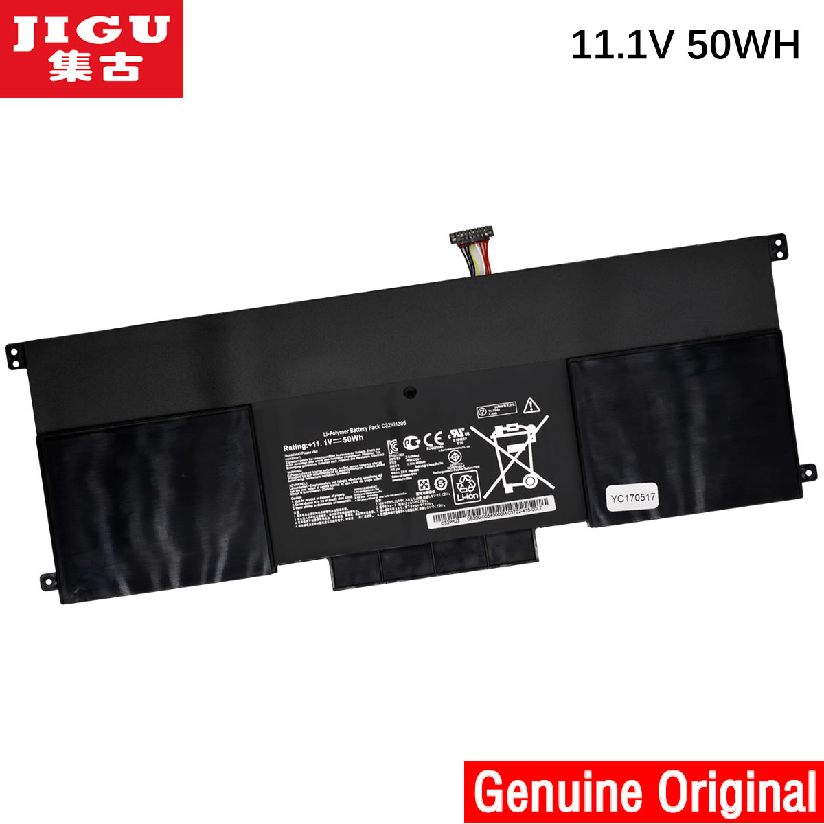 JIGU 11.1V 50WH original new C32N1305 battery for UX301LA C32N1305 Replacement batteries автокресла детские renolux автокресло new easy 2 3 total black