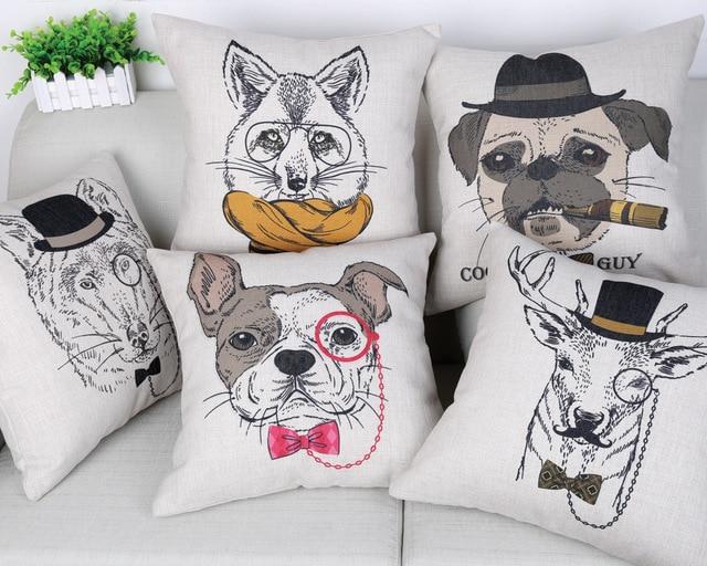 Ferplast hondenmand met kussen sofa bruin dierenwinkel