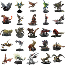25PCS Japan Anime Monster Hunter XX Figure PVC Models Hot Dragon Action Figure Decoration Toy Model Collection