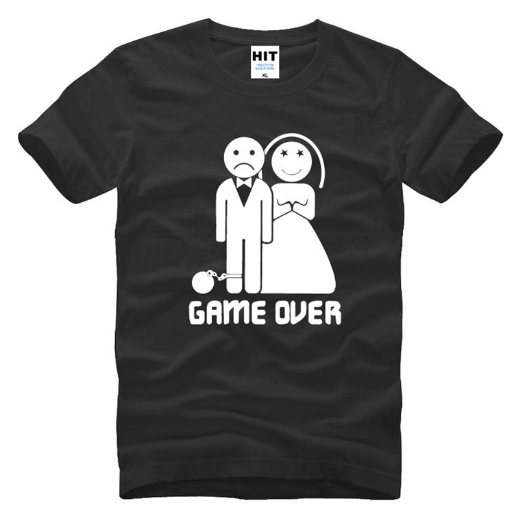 2017 Short Game Over Marriage Ball And Chain Funny Wedding