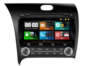 Wince 6,0 dvd-плеер автомобиля Sunplus 8288 т решение для KIA K3 FORTE CERATO 2013 Авторадио Стерео мультимедийный плеер bluetooth gps