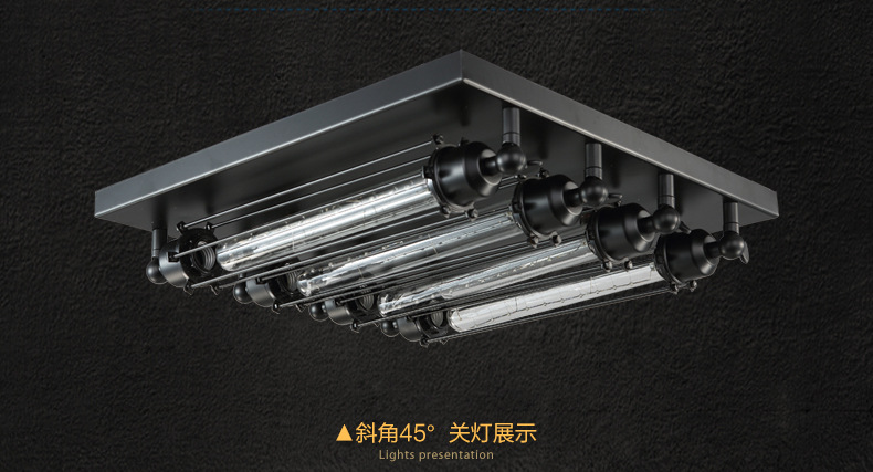 Luce di soffitto industriale lampadina edison retro luci di
